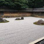 龍安寺で石庭配置の謎と見学の所要時間まとめ!見どころも紹介!